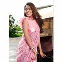 Ladies Designer Printed Cotton Sarees