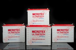 Microtex Inverter Battery 12v Flooded Tall Tubular, For Industrial