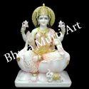 Laxmi Marble Statue
