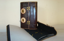 Vintage Leather Handmade Journal with Lock