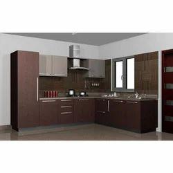 Residential MDF Modular Kitchen, Warranty: 10-15 Years