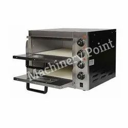Double Deck Two Trays Electric Pizza Oven