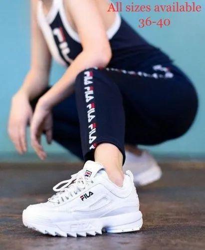 tinta Desafortunadamente Paso  girls fila disruptor Shop Clothing & Shoes Online