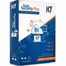 for For Home/Personal K7 Total Security Plus Antivirus Software, With Internet Security: Yes, 5 PCs