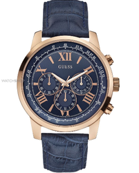 Blue And Brown Guess Watch