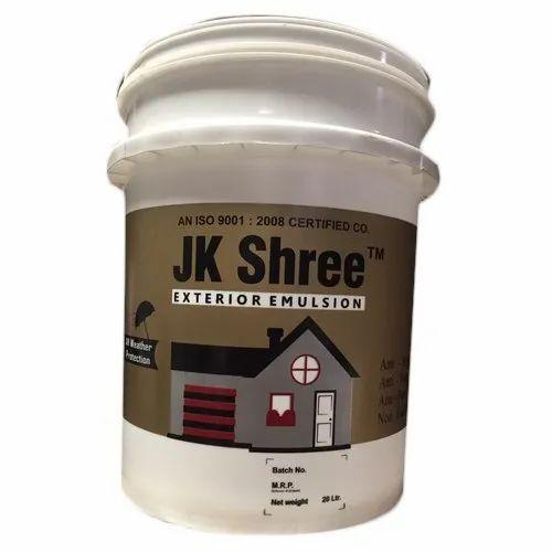 JK Shree Exterior Emulsion 20L, Packaging Size: 20 Litre
