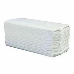 Plain C Fold Pulp Tissue Paper, Unfolded Size: 23 X 31 cm