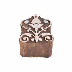 Classic Wooden Printing Block