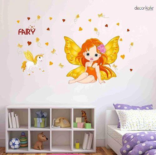 multicolor multiple decor kafe little orange fairy with hourse baby