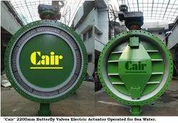 Penstock Motorized Butterfly Valves For Hydro Power