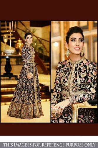 Small And Medium Georgette Designer Bollywood Replica Gowns | ID ...