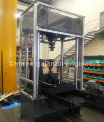 Pilllar Type Hydraulic Press Machine