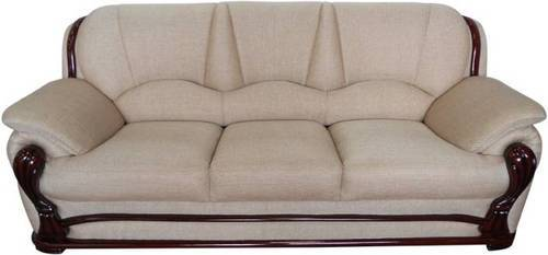 Ivoria Fabric 3 Seater Boss Sofa Warranty 6 Months Rs 38999