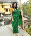 Plain Mulmul Cotton Sarees