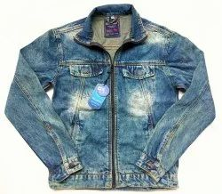 Casual Mens Full Sleeves Denim Jacket