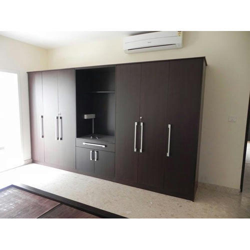 Dark Brown Wood Almirah, Rs 800 /square Feet, Interior