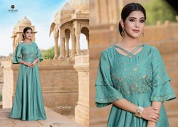 Yami Fashion Launch Noor Long Gown Style Kurti