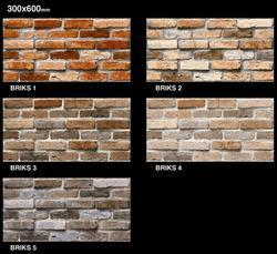 Bricks Ceramic Digital Wall Tiles