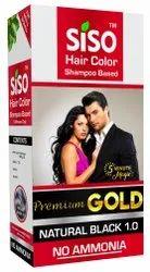 Black Siso Premium Gold 5 Minute Hair Color, Box