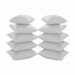 Non Woven White Plain Cushion, Size: 12*12 Inches