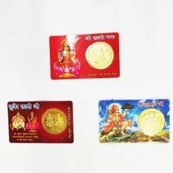 Golden Artificial Round Gold Coins, Packaging Type: Box, Weight: 10 Gms