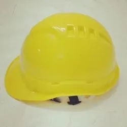 Yellow Industrial Safety Helmets