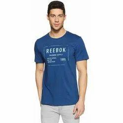 547225413e Reebok Mens Plain Cotton T-Shirt