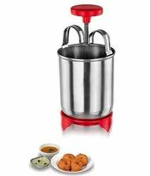 Stainless Steel Hygienic Meduwada Maker, Menduwada Maker, Makes Perfectly Shaped & Crispy Medu Vada