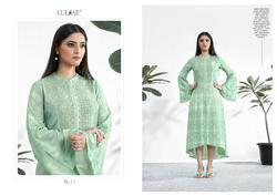 Gulzar Couture k Series Vol-2 Series K-11-K-15 Stylish Party Wear Maslin Suit
