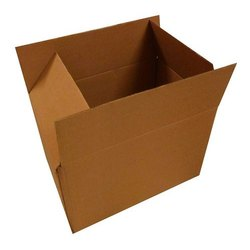 Brown Packaging Corrugated 16x16x10 Inch 5 Ply Box