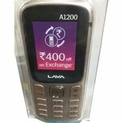 Lava A1200 Mobile Phone, 1750 mAh, 0.3 Mp