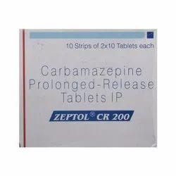 Zeptol CR  Tablet, Carbamazepine