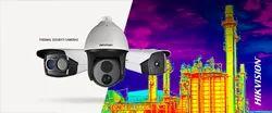 HIKVISION Day & Night Vision Thermal CCTV Camera, Camera Range: 20 to 25 m