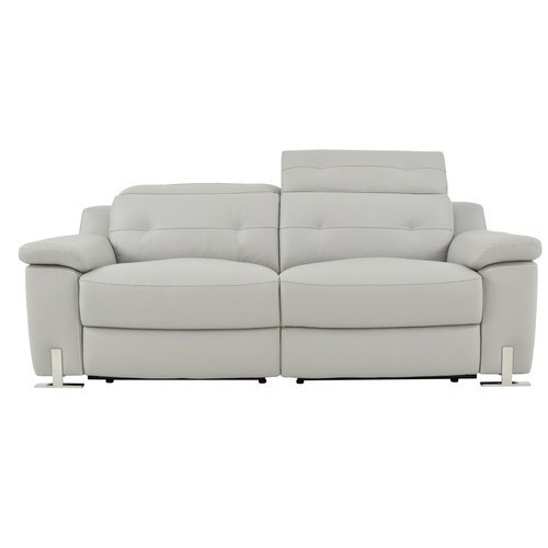 White Double Reclining Sofa Rs 22000