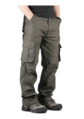 c9d0467e0 Direct Men  s Military Cargo Pants Cotton Straight Fit Casual Tatical  Trousers Plus Size 6