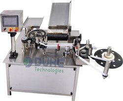 Automatic Vertical Ampoule Sticker Labeling Machine