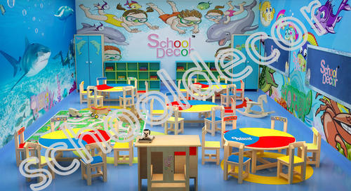 Theme Based Class Room Decoration Service In Laxmi Nagar Delhi