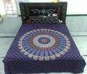 Mandala Printed Bed Sheet