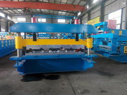 Semi Automatic Roof Tile Making Machine