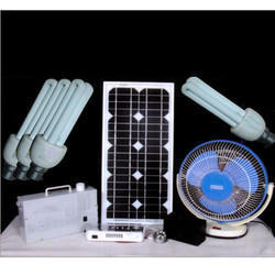 Solar Home Light Systems with DC Fan