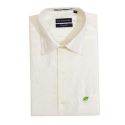 Mens Cotton Silk Shirt