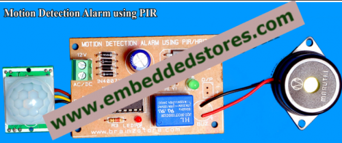 DIY - Motion Detection Alarm using PIR - DIY Kit