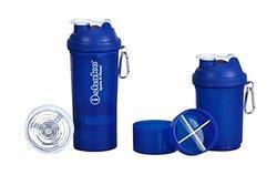 iShake 019 Blender Shaker Bottle - 500 ml - Blue