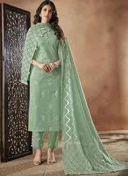 Churidar Cotton Pure Cambric Fancy Designer Print Suits