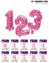 16 Number Foil Balloon