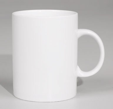 White Sublimation Blank Coffee Mug Size 11oz