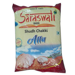 Saraswati Bhog Aata 10 kg, Packaging: HDPE Bag