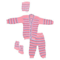 Baby 4 Piece Woolen Sets