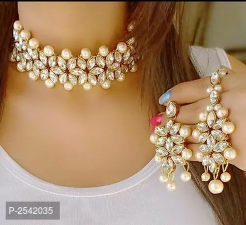 Designer Pearl Necklace Fashion Jewellery For Modern Women at Rs 399/piece  | फैशन नेकलेस सेट, फैशन वाला हार का सेट - R S Mani Associates, Sirathu |  ID: 21368532091