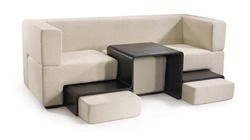 Residential Designer Leather Sofa Set